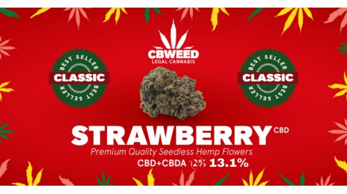 Susz Konopny CBWEED Strawberry CBD - 2g
